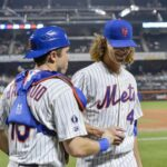 DeGrom throws seven scoreless, Mets offense comes to life in win over Braves