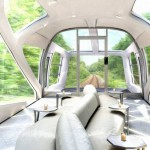 Japan's luxury train of the future has private suites and takes only 34 passengers