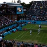 Andy Murray's Queen's doubles quarter-final halted because of bad light