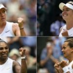 Serena Williams faces Barbora Strycova & Simona Halep v Elina Svitolina in Wimbledon semis
