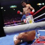 Manny Pacquiao beats Keith Thurman on points to take WBA Super welterweight title
