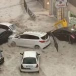 Madrid area inundated by severe rain, hail storm that spawned dramatic flooding