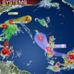 Tropical systems menace Puerto Rico, Bermuda as Lorenzo forecast to become 'large and powerful' hurricane