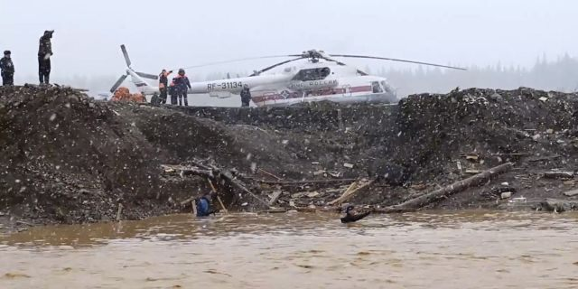 The Emergencies Ministry also said seven people were unaccounted for after the dam collapse, Russian news reports said. The regional health ministry said 16 people were injured.