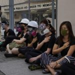 Hong Kong police accused of being 'trigger-happy and nuts' as crowds protest shooting of teen