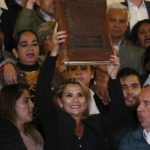 Bolivia interim president declares 'Bible has returned to the palace' amid growing uncertainty