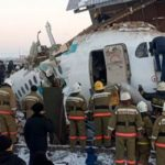 Kazakhstan plane crashes into two-story home after takeoff killing at least 12, injuring 54