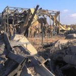Photos taken at Iraq base where US troops are stationed show scale of damage following Iranian airstrikes