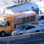 Canada pileup involving 200 vehicles leaves 2 dead, 60 hurt after 'whiteout' conditions