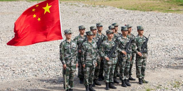China, which has the largest active duty army in the world, is becoming a growing adversary to the U.S.