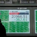 Asian stock markets tumble after oil prices crash