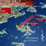 Tropical Storm Dolly forms over North Atlantic, no threat to land