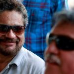 US offers $10M rewards each for arrests of 2 Colombian rebel chiefs