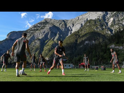 On Demand: Liverpool in action at their training camp in Austria