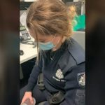 Australian woman bashed cop's head into 'concrete' for asking about mask: report