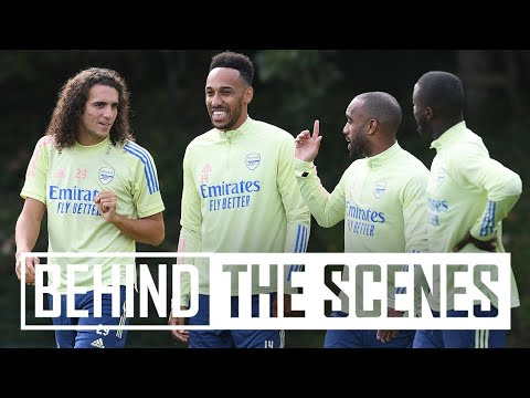 ✍️ Aubameyang's signing day | Behind the scenes at Emirates Stadium