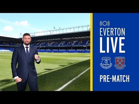 EVERTON V WEST HAM | LIVE PRE-MATCH CARABAO CUP SHOW WITH TONY BELLEW!