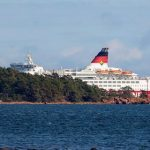 Ferry boat 'stuck on the ground' with nearly 300 aboard, no injuries reported