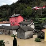 France, Italy battered by heavy floods brought by Storm Alex; at least 8 missing, 2 dead