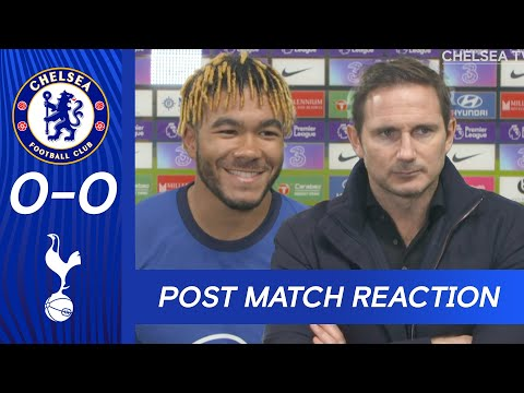 Frank Lampard & Reece James Reflect On Tight Match At The Bridge | Chelsea 0-0 Tottenham