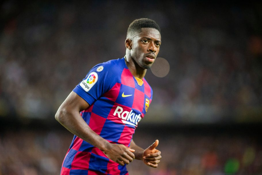 Barcelona have opened contract talks with Manchester United target Ousmane Dembele