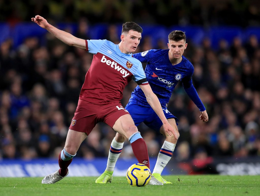 The latest on Chelsea's pursuit of 'top target' Declan Rice