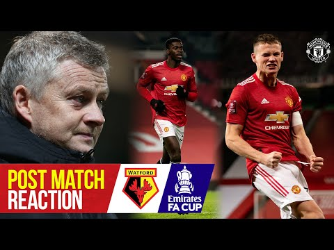 Captain Scott McTominay sends the Reds through! | Manchester United 1-0 Watford | Emirates FA Cup
