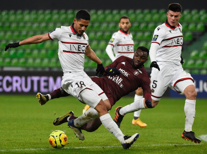 Tactical Analysis: How Saliba has performed since leaving Arsenal on loan for Nice