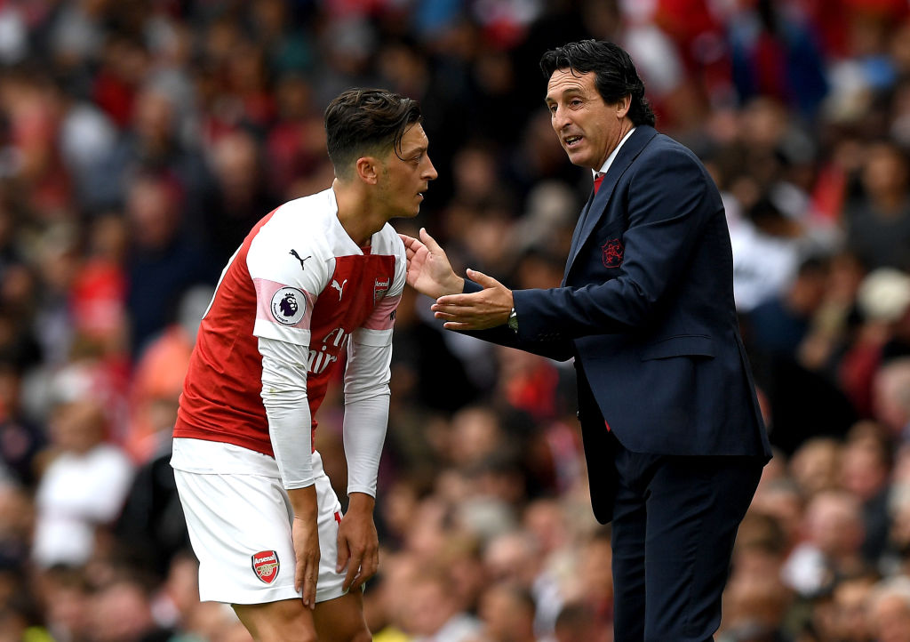 'I tried to achieve the best performances with him' Unai Emery opens up about dealing with Mesut Ozil at Arsenal