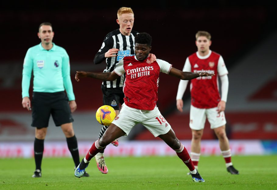Mesut who? Partey & Smith Rowe prove there's life in Arsenal's midfield yet as Gunners down Newcastle