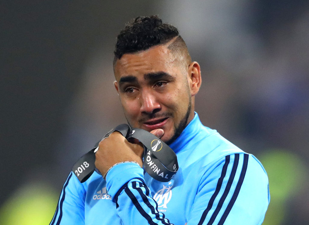 Dimitri Payet after the Europa League final