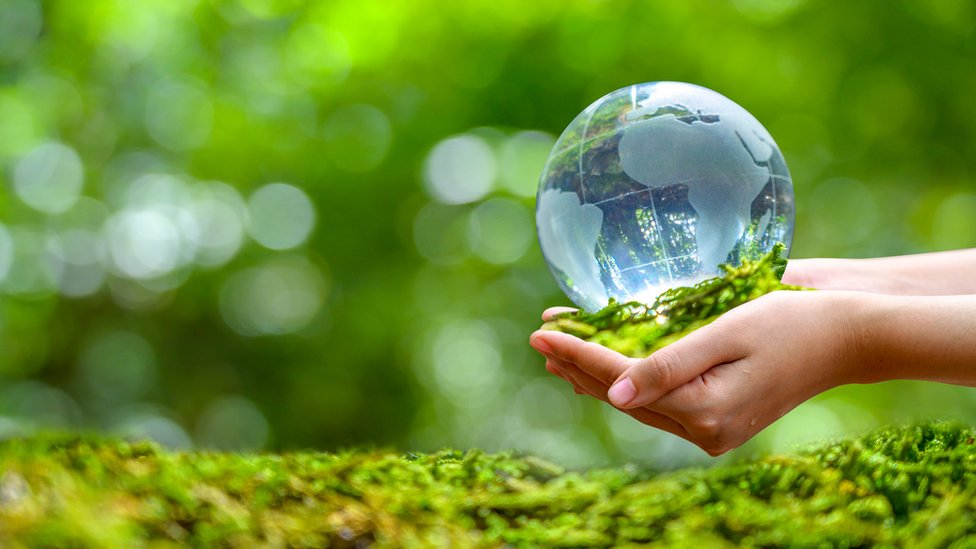 The planet in our hands
