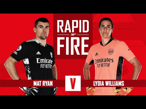 What was Ryan's initiation song? | Mat Ryan & Lydia Williams | Rapid Fire