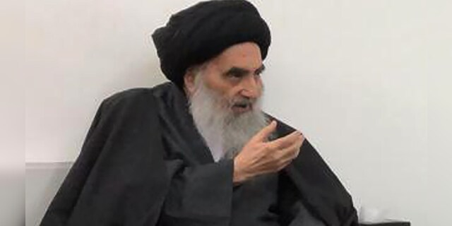 The pope's visit to Iraq will include a private meeting with Grand Ayatollah Ali al-Sistani, shown here. (AP/Office of Grand Ayatollah Ali al-Sistani)