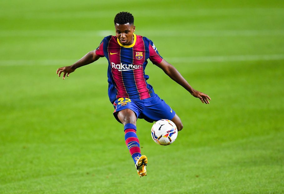 Barca's Ansu Fati steps up recovery from knee injury in hope of return