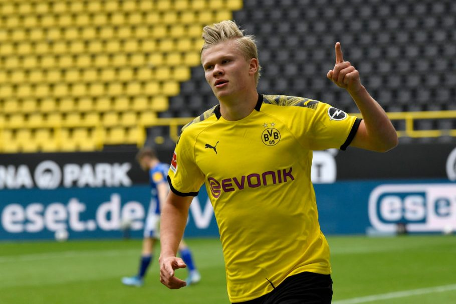 Dortmund target Henrik Larsson's son amid possible Haaland exit