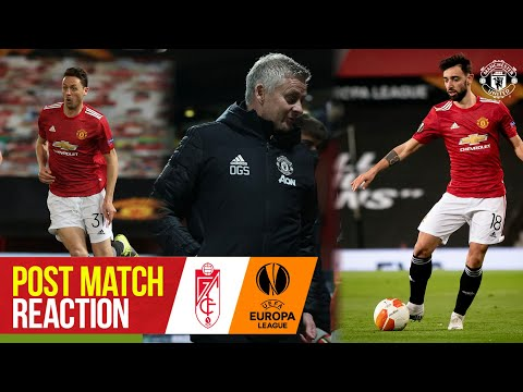 """Solskjaer: """"We relish the chance to go to the final"""" 