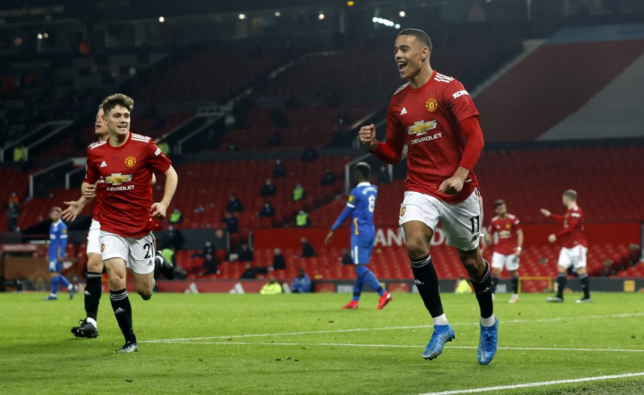 Mason Greenwood tipped to take Cavani's centre-forward spot following Man United winner vs Brighton