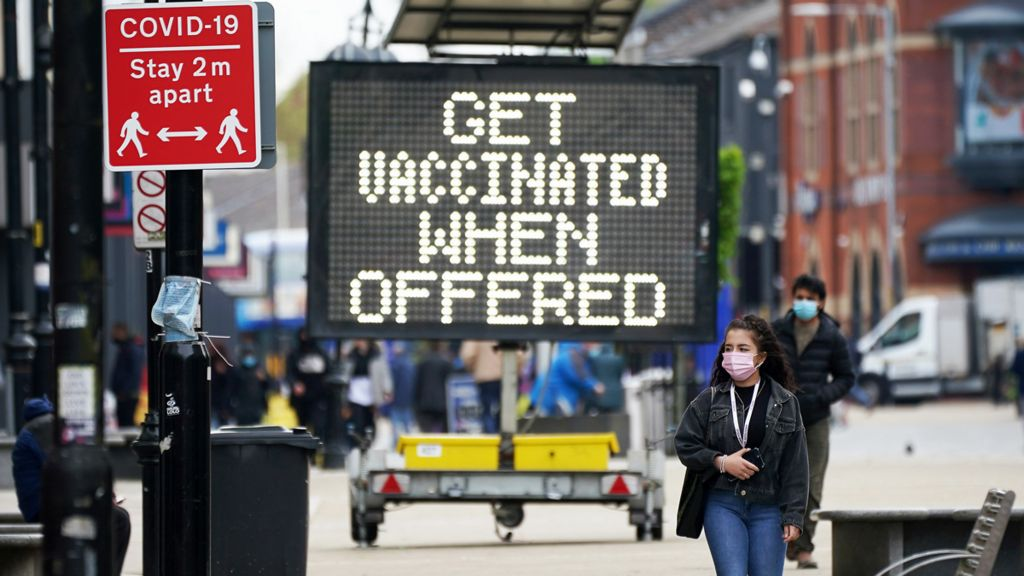 Get vaccinated when offered - sign in Bolton