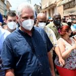 Cuban president urges country's 'revolutionary' citizens to counter protesters