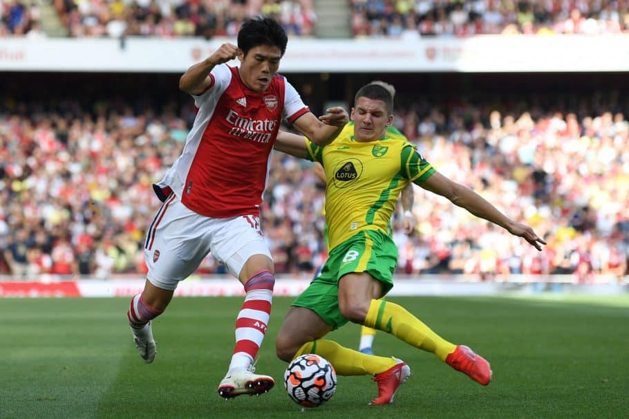 Arsenal defender Takehiro Tomiyasu explains why Premier League is difficult for Japanese players